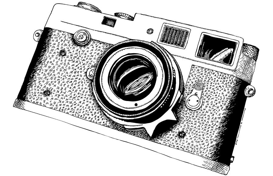 Micron camera drawing by karl addison for Camere dwg