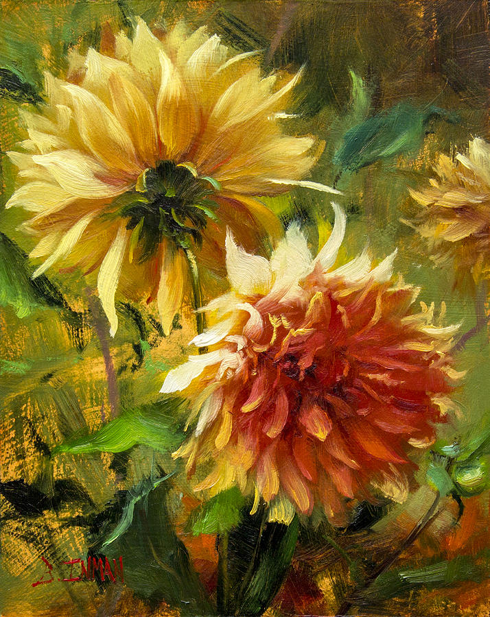 Beautiful Painting - Midas Touch by Bill Inman