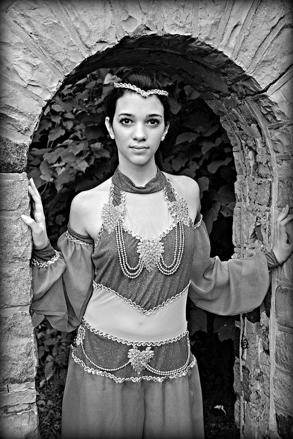 Princess Photograph - Middle Eastern Princess by Stephanie Grooms