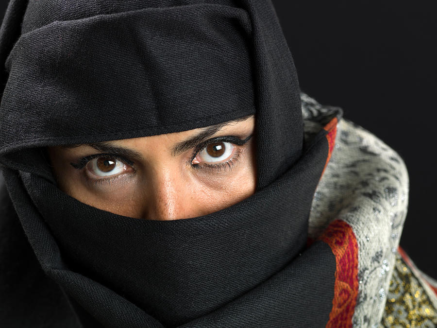 Middle eastern woman at her forties Photograph by Juanmonino