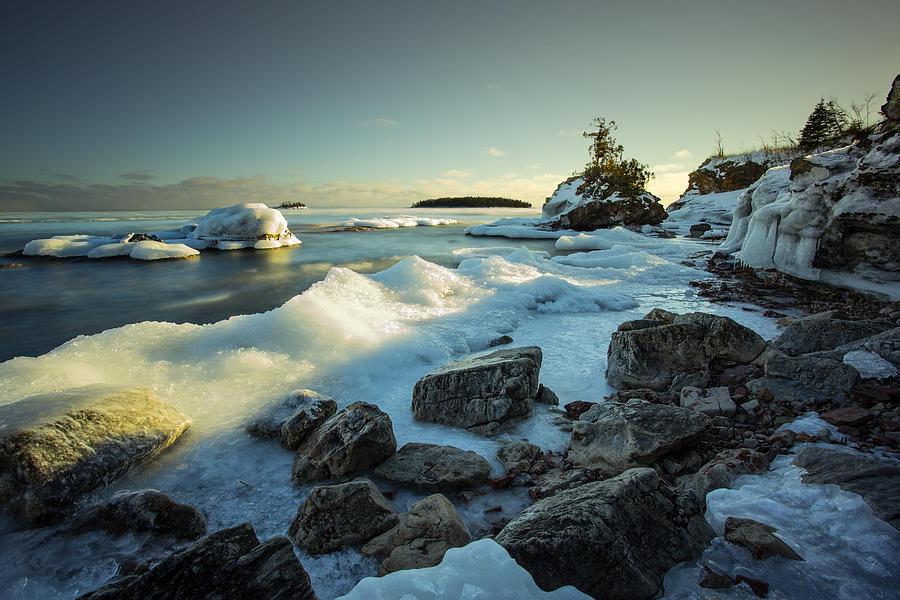 Bay Photograph - Middlebrun Bay Sunset II by Jakub Sisak