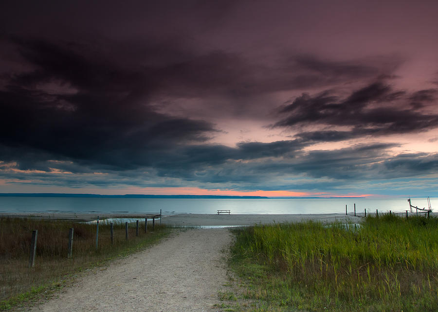 Midland Sunset Photograph