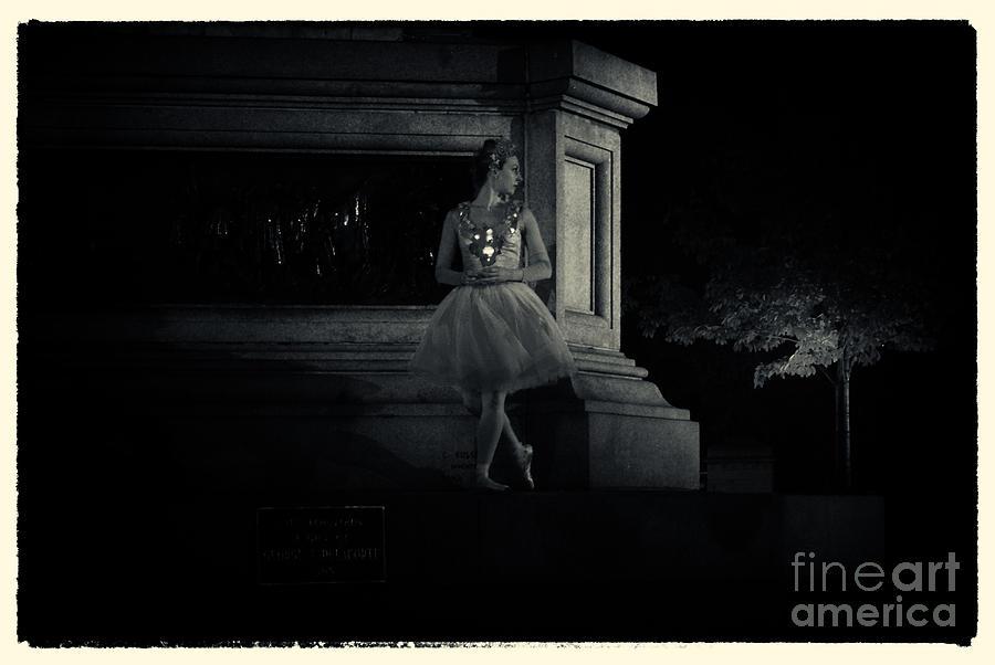 Midnight Ballerina New York City Photograph