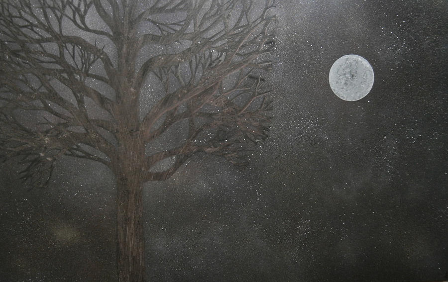 Midnight Painting - Midnight Calm by Drew Shourd