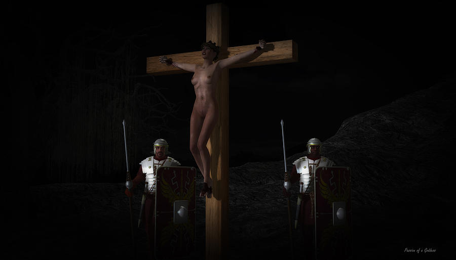 Midnight Crucifixion Digital Art By Ramon Martinez