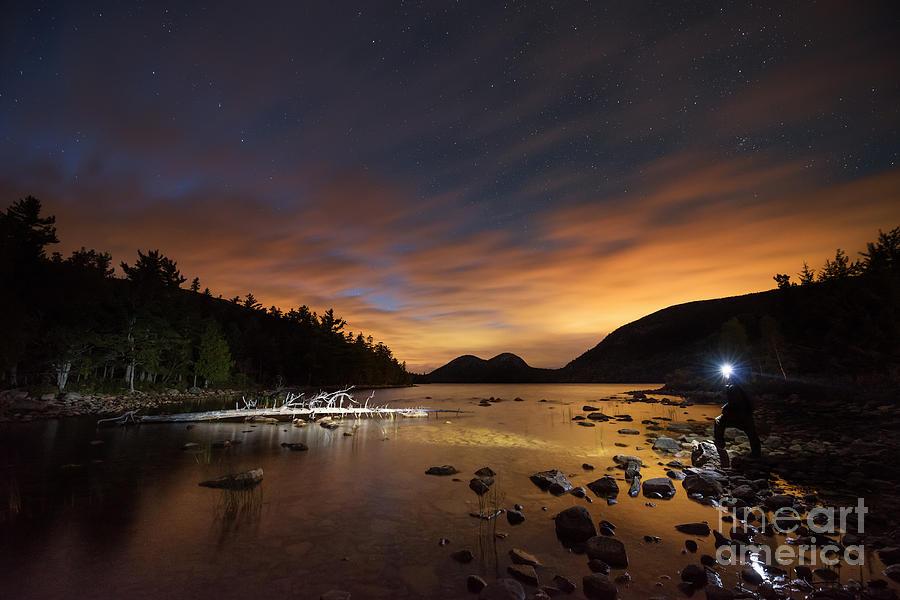 Mv Photograph - Midnight Explorer by Michael Ver Sprill