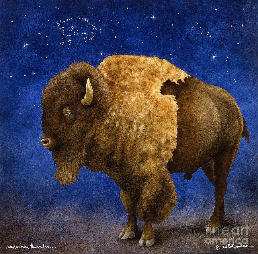 Will Bullas Painting - Midnight Thunder... by Will Bullas