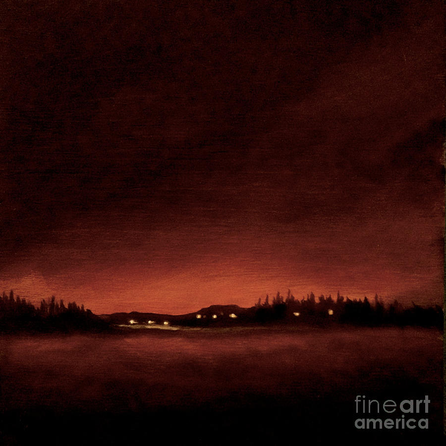 midnight winter swedish light by Ric Nagualero