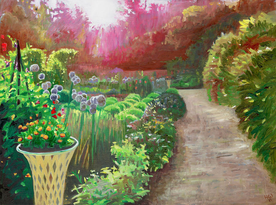 Light Painting - Midsummer eve by Helen White