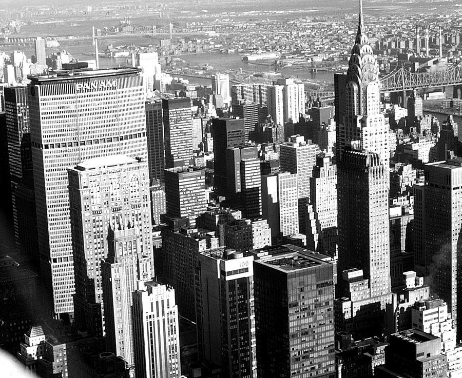 New York City Photograph - Midtown Manhattan 1972 by Steve Archbold