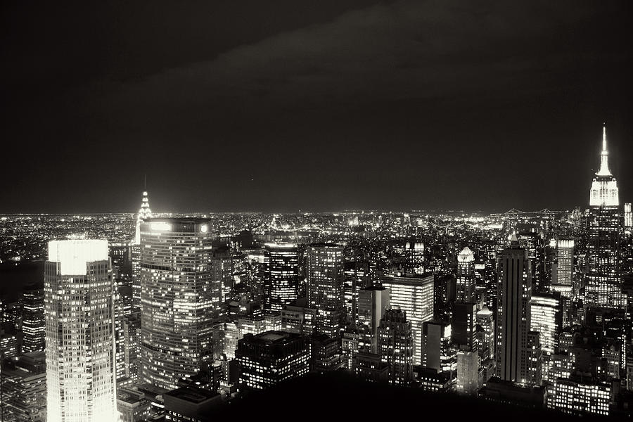 Midtown Manhattan Photograph by Andrea Carolina Photography