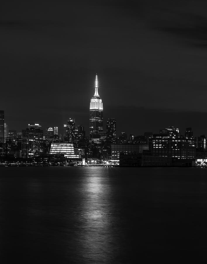 Midtown Manhattan Skyline Triptych Middle Photograph