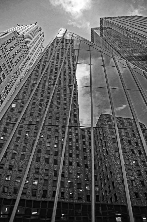 Manhattan Photograph - Midtown Reflections by Mike Martin