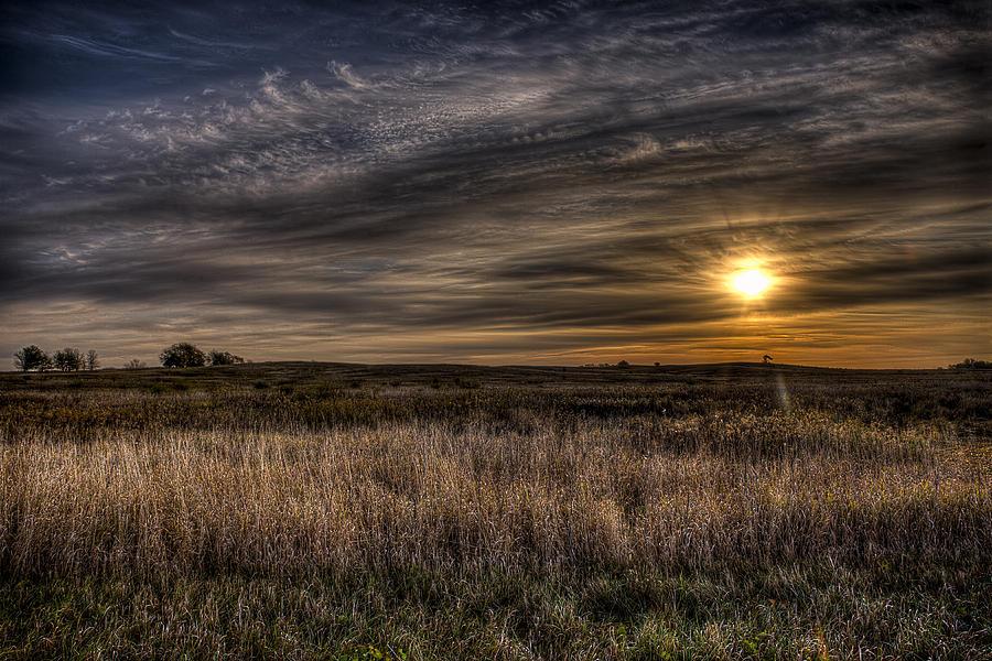 Jeff Photograph - Midwest Sunrise by Jeff Burton