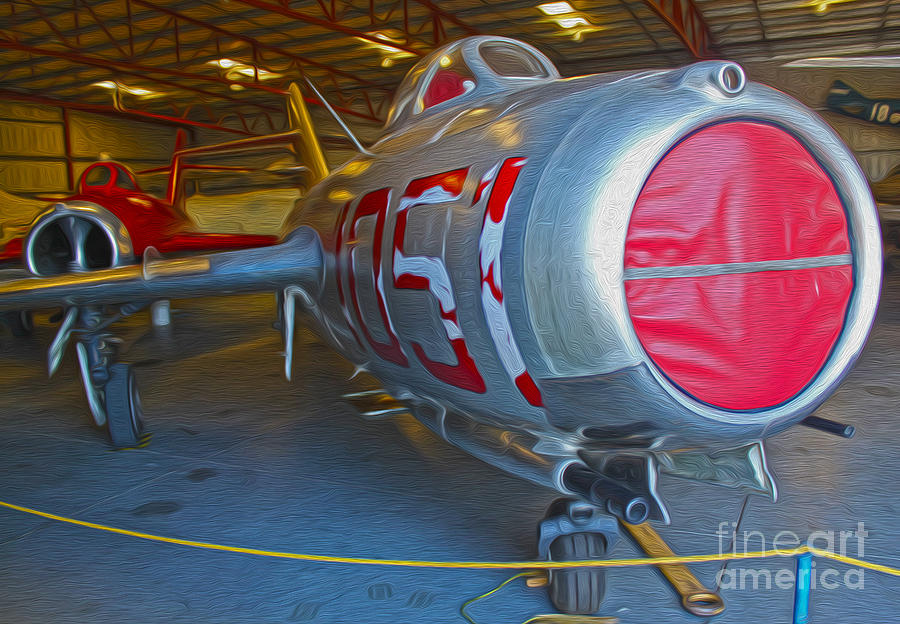 Mig Painting - MIG by Gregory Dyer