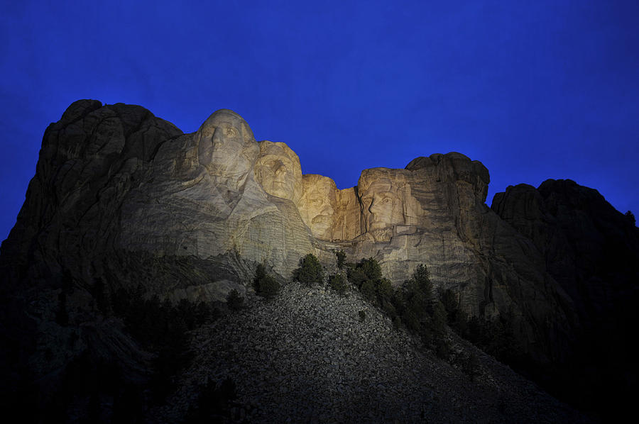 Mighty Mount Rushmore by Keith Swango