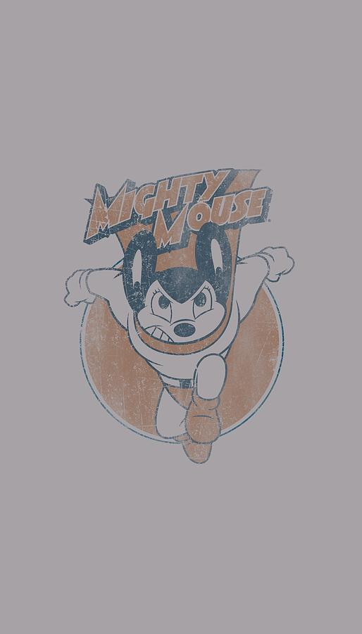 Mighty Mouse Digital Art - Mighty Mouse - Flying With Purpose by Brand A
