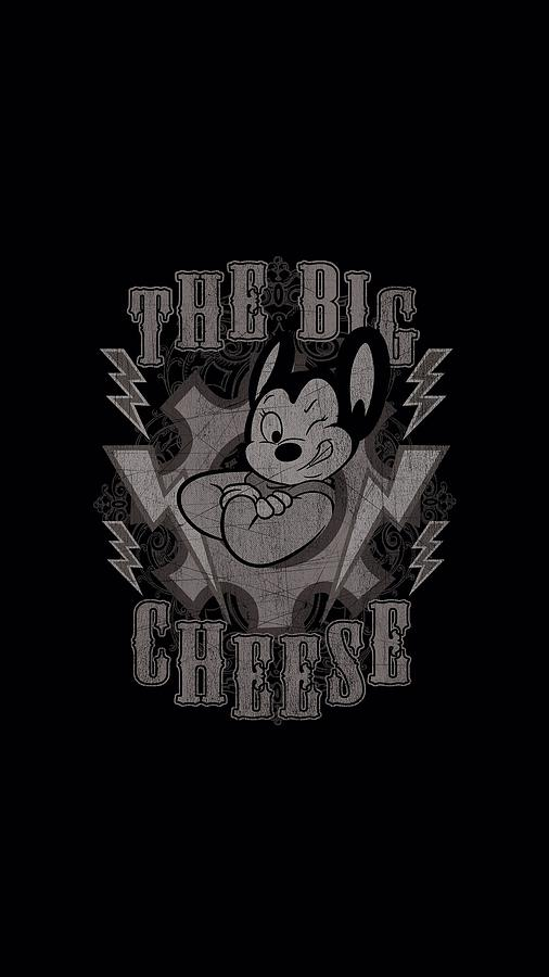 Mighty Mouse Digital Art - Mighty Mouse - The Big Cheese by Brand A
