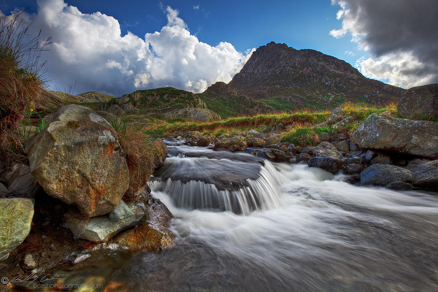 Tryfan Photograph - Mighty Tryfan  by Beverly Cash