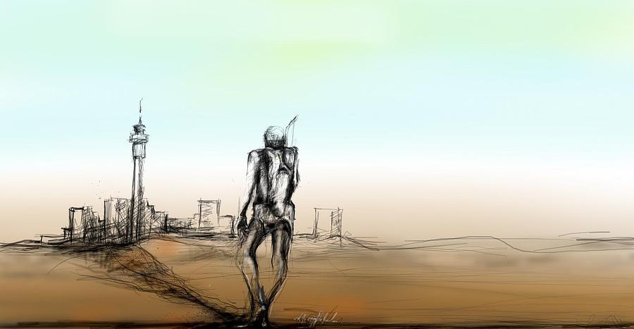 Migration Digital Art by Khaya Bukula