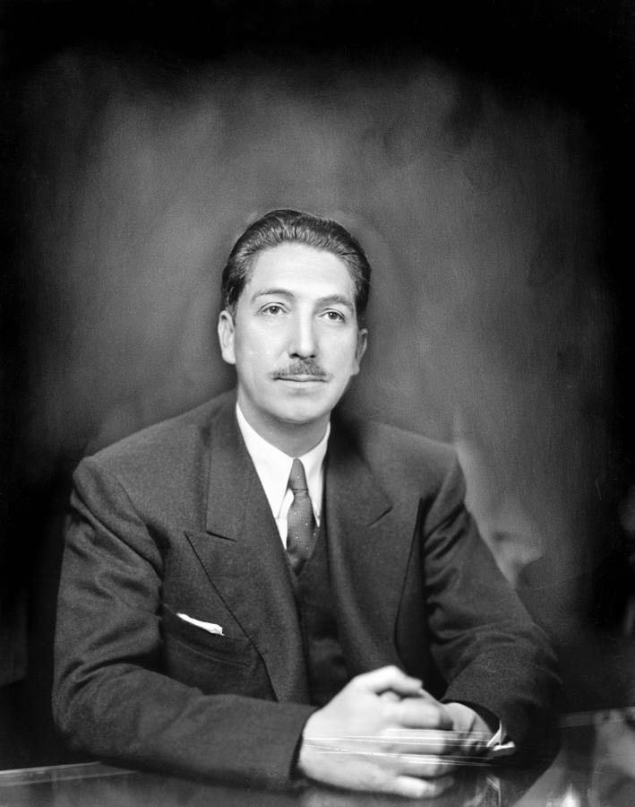 1947 Photograph - Miguel Alem�n (1900-1983) by Granger