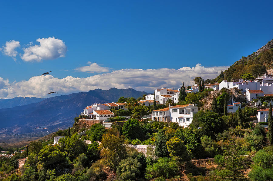 Mijas Photograph - Mijas. White Village Of Spain by Jenny Rainbow