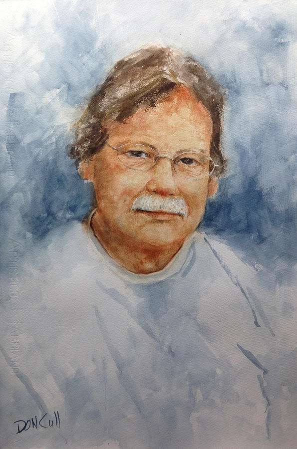 Portraits Painting - Mike by Don Cull
