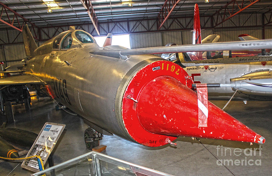 Airplanes Photograph - Mikoyan Gurevich Fishbed Mig-21r by Gregory Dyer