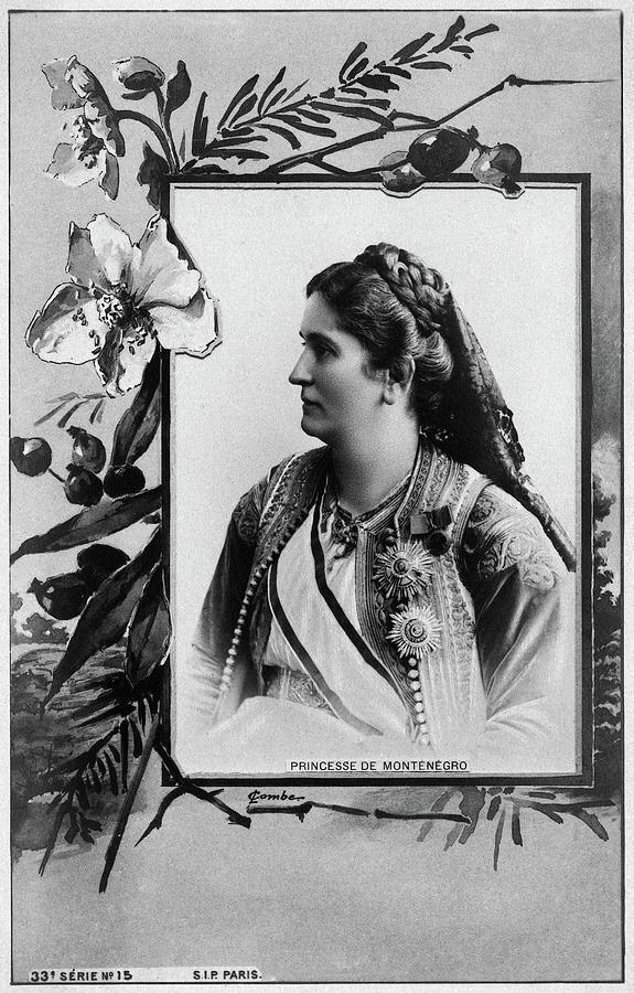 1890 Photograph - Milena Vukotic (1847-1923) by Granger