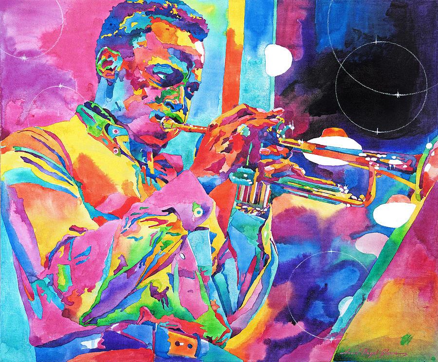 Miles Davis Bebop Painting