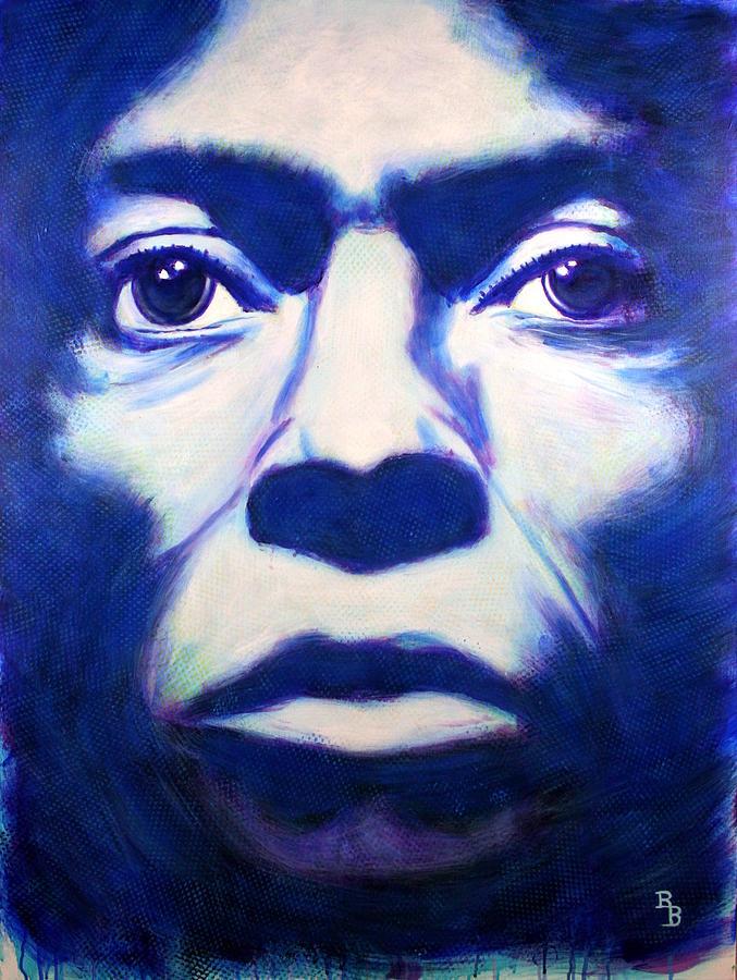 Miles Davis Tutu Album Cover by Bob Baker