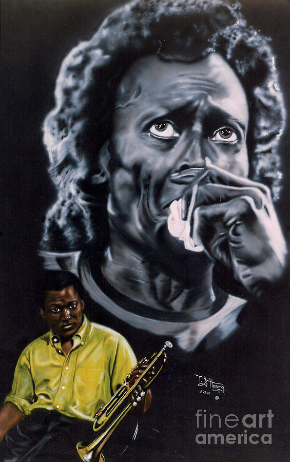 Miles Davis Jazz King by Thomas J Herring
