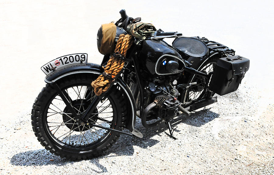 military style bmw motorcycle photographdave mills