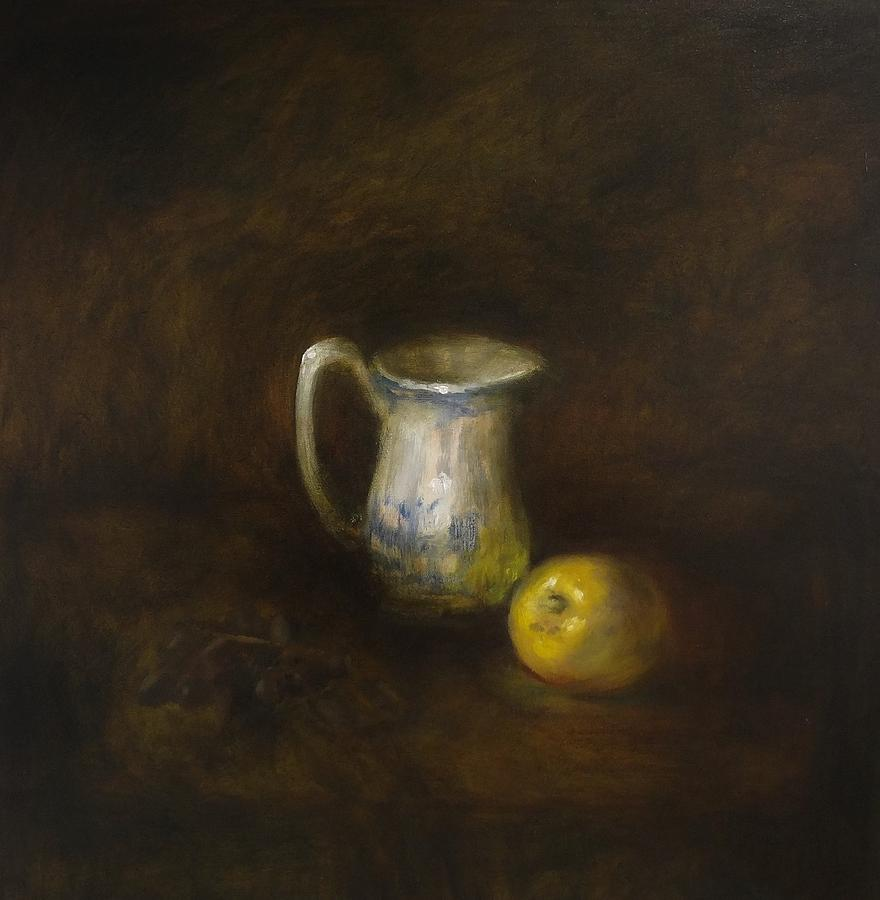 Still Life Painting - Milk by Myrmann Vidir