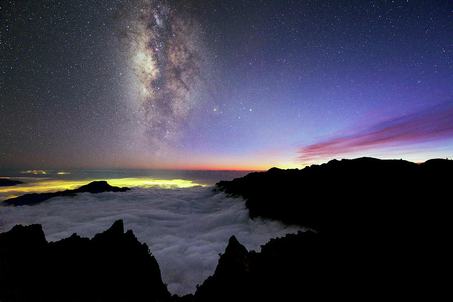 Milky Way Photograph - Milky Way Above La Palma by Babak Tafreshi