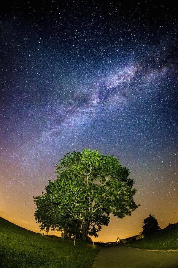 Milky Way Photograph - Milky Way by Bjoern Kindler