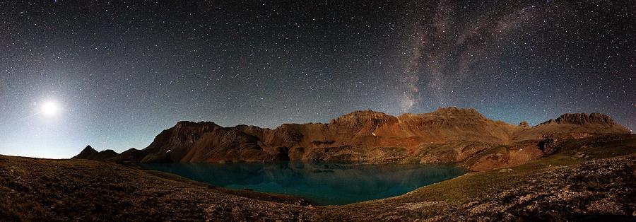 Alpine Photograph - Milky Way Dreams At Columbine Lake by Mike Berenson