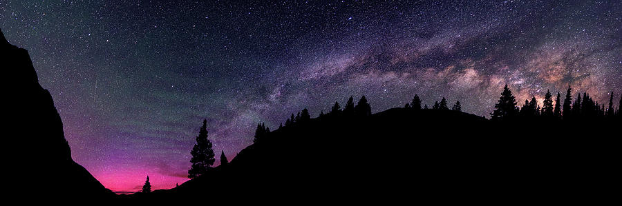 Milky Way In Grizzly Valley Photograph by Photo By Matt Payne Of Durango, Colorado