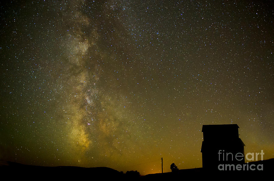 Milky Way Photograph - Milky Way Lights The Way. by Jackie Follett