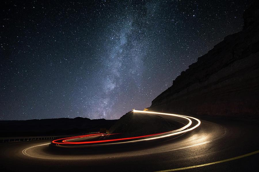 Milkyway Photograph - Milky Way Over Mitzpe Ramon by Erez Vansover