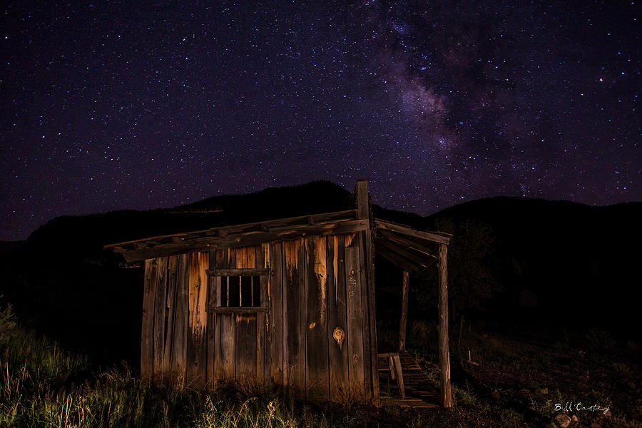 Milky Way Photograph - Milky Way Rising by Bill Cantey