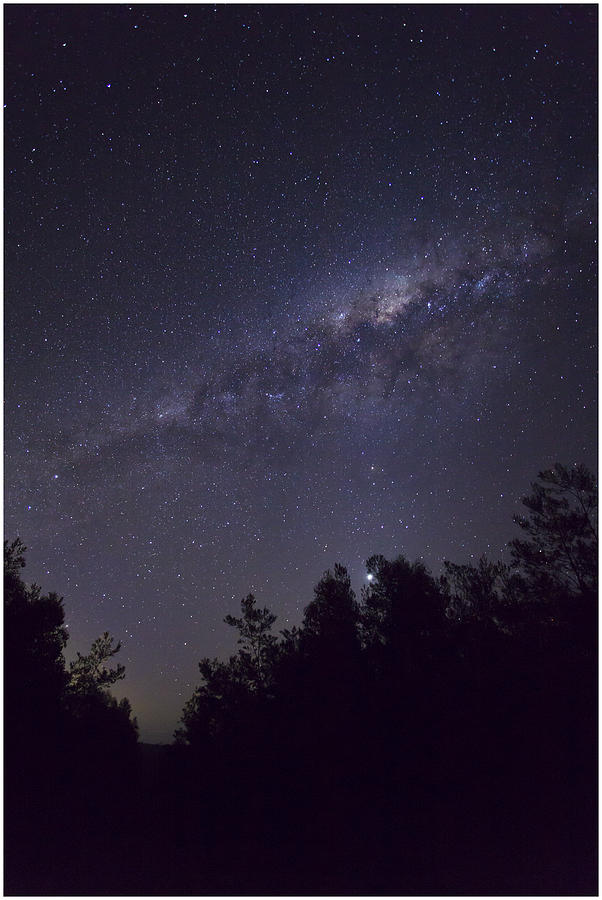 Stars Photograph - Milky Way by Steve Caldwell