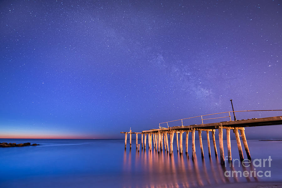 Milkyway Photograph - Milky Way Sunrise by Michael Ver Sprill