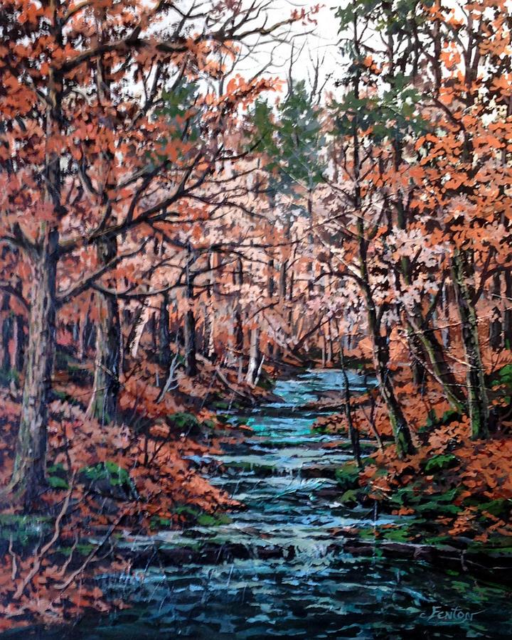 Landscape Painting - Mill Creek by W  Scott Fenton
