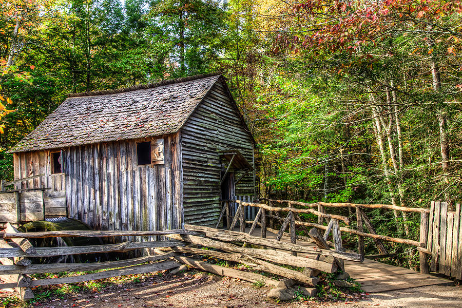 Cades Cove Tn Photograph - Mill by E Mac MacKay