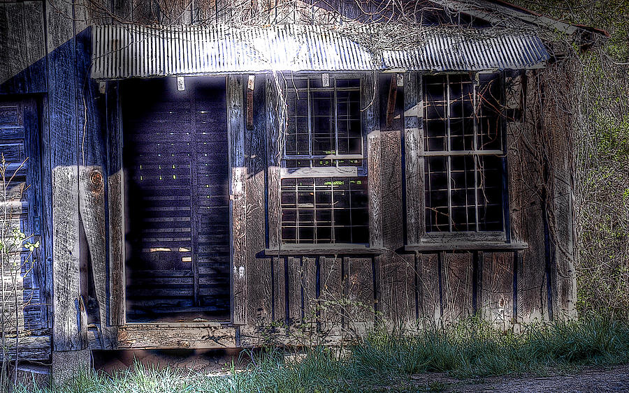 Rustic Photograph - Mill House by Craig Burgwardt