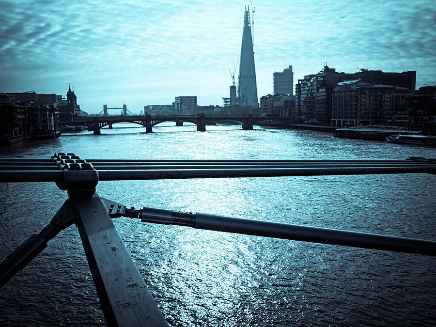 Millenium Bridge In London Photograph by Cirano83