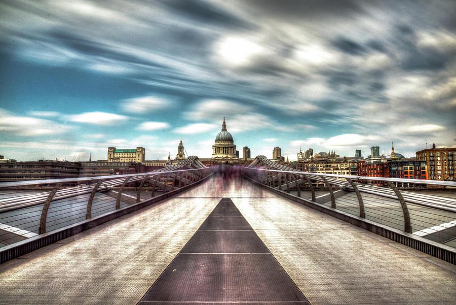 Millenium Bridge Photograph by Lee Davison Photography