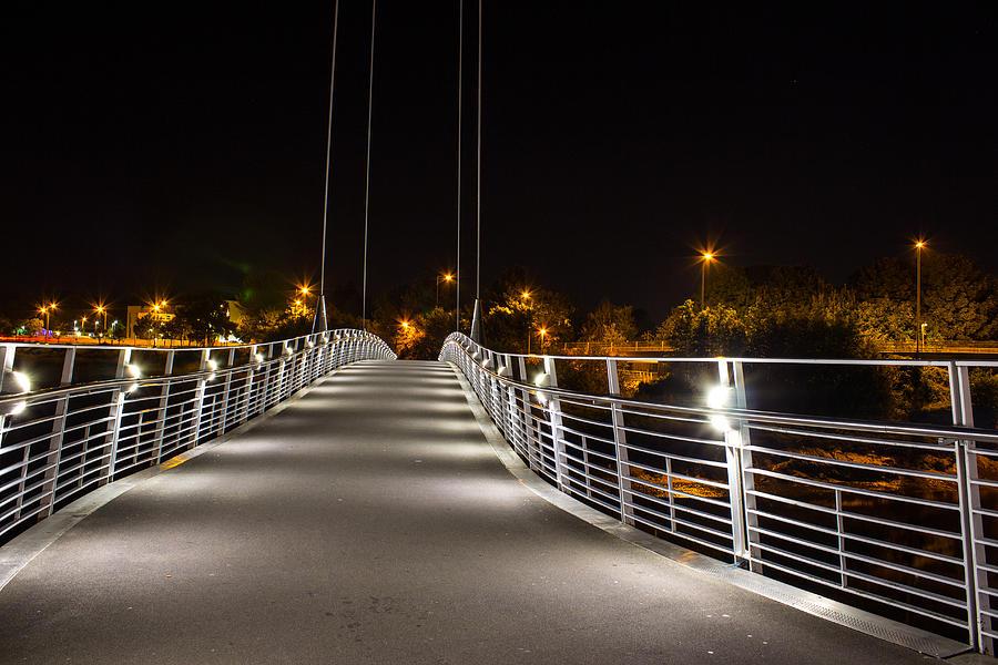 Millennium Bridge Lancaster Photograph