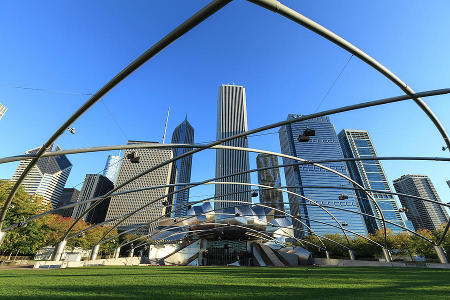 Millennium Park, Chicago Photograph by Fraser Hall